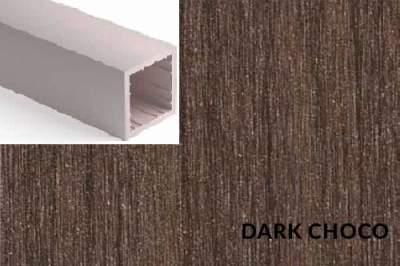 Lamela Duro Dark Choco - 40x40mm